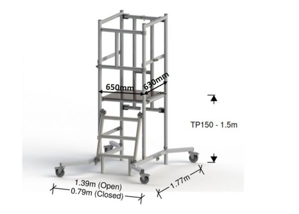 Podium TP150 - 1.5M (3.5M Working Height)