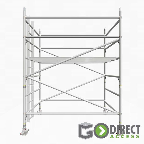 GDA500-DW Mobile Scaffold Tower-2M platform height (4M working height)