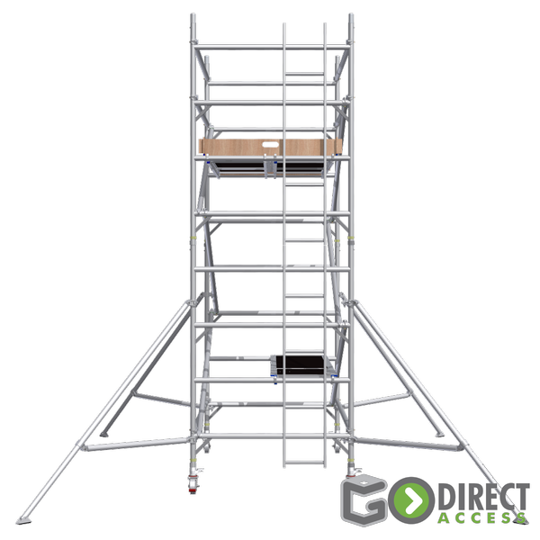 GDA500-DW Mobile Scaffold Tower-3M platform height (5M working height)