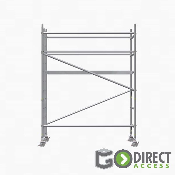 GDA500-SW Mobile Scaffold Tower-2M platform height (4M working height)