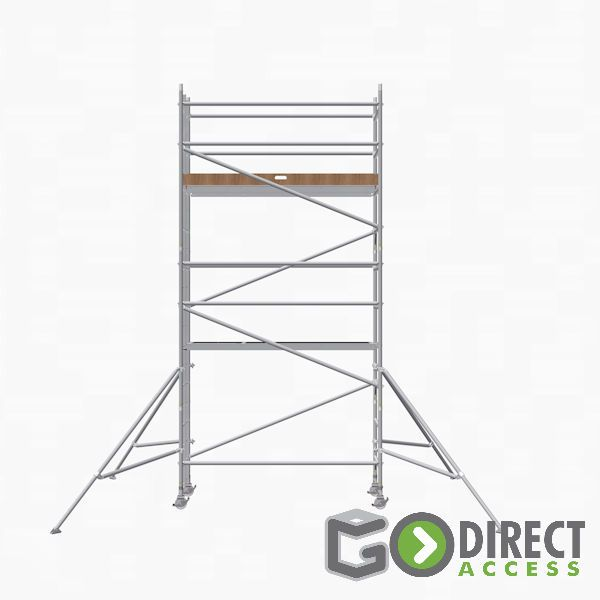 GDA500-SW Mobile Scaffold Tower-4M platform height (6M working height)
