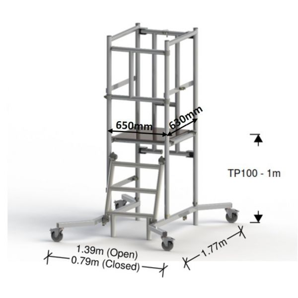 Podium TP100 1M (3M Working Height)