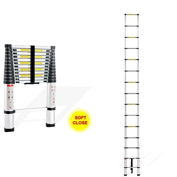 Telescopic Ladder Soft Close