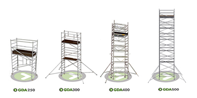 Choosing the right Aluminium Scaffolding Tower for you at Go Direct Access